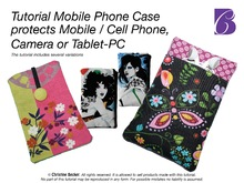 E-Book Tutorial Mobile Phone Case,Tablet PC