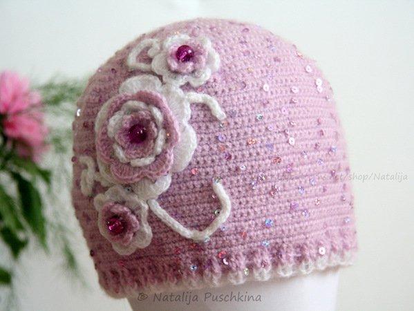 Mütze Für Damen Und Mädchen Selber Häkeln