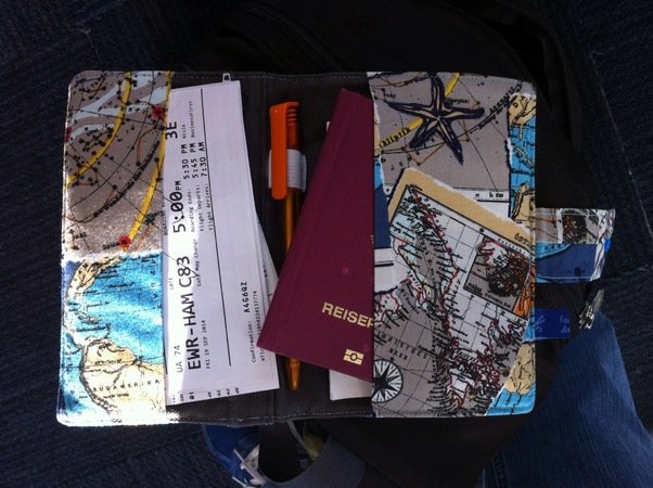 Nähmuster Organizer/Ebook-Reader-Tasche