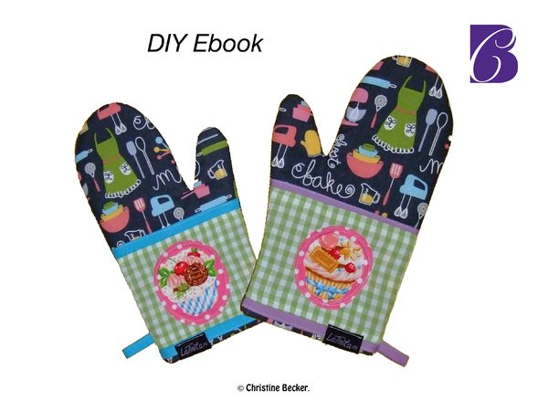 E-Book Tutorial and Pattern Oven Glove,PDF