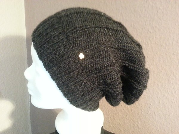 Longbeanie selber stricken – Mütze stricken