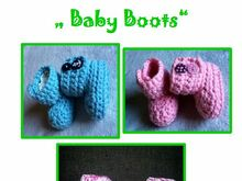 E-Book Baby Boots / Baby Stiefel