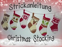 Adventskalender, Christmas Stocking, Nikolaus- Söckchen
