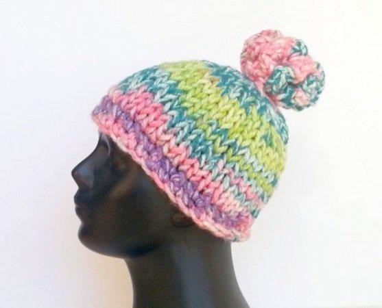 Mütze Mit Korallenbommel Häkelnknooken Diy
