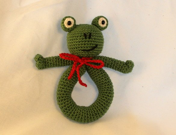 Froschrassel Häkeln Diy Baby Spielzeug