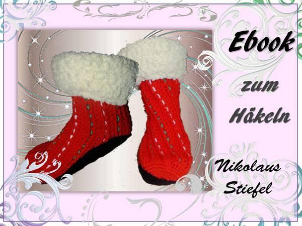 Nikolausstiefelweihnachtssocken Häkeln Pdf