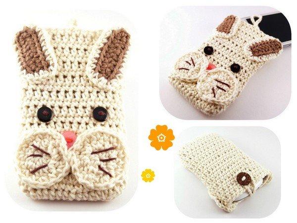 Smartphonetasche Kaninchen Selber Häkeln Pdf