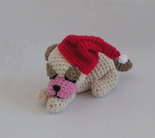 Amigurumi Anleitung Deutsch Kostenlos Weihnachten : Amigurumi hund selber h�keln weihnachtsdeko