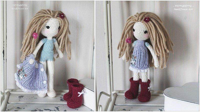 Amigurumi Puppe Marie Häkelanleitung
