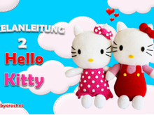2 Hello Kitty Häkelanleitung