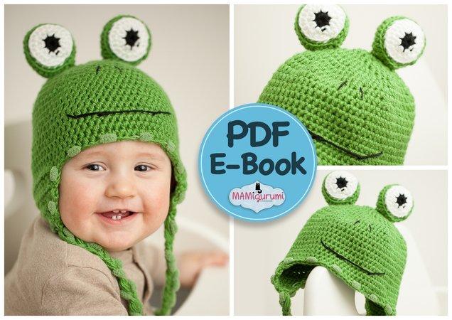 Frosch Mütze Häkeln Für Kinder Erwachsene