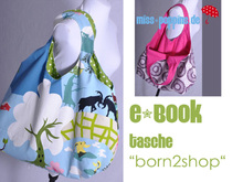 "E-Book #45 Tasche ""born2shop"""