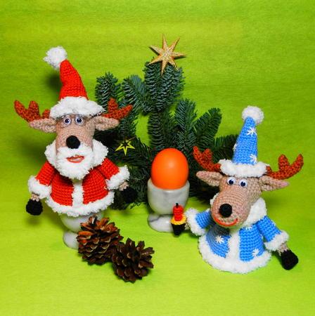 Diy Eierwärmer Elch Weihnachts Deko Häkeln