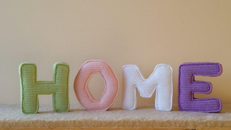 Diy Häkeln 3d Buchstaben Home Häkeln