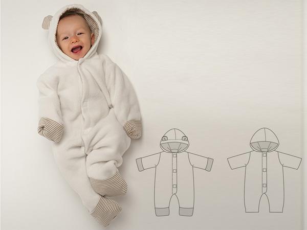 Baby Overall Nahen Total Niedlich Leicht