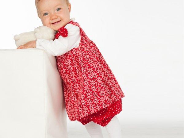 LIPSIA + ELISA Baby girls twin set of easy pants + tunic dress sewing  pattern by Patternforkids
