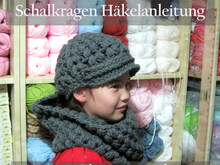 Puff Stitch Hat and Cowl, Crochet Pattern