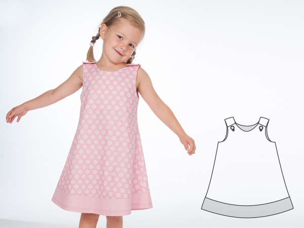 Schnittmuster kleid gr 146 kostenlos