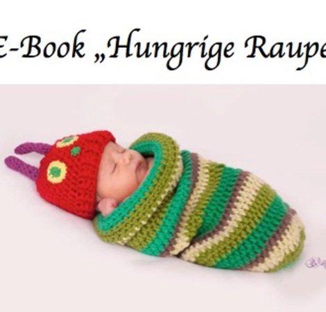 Pucksack + Mütze fürs Baby häkeln - Babyset