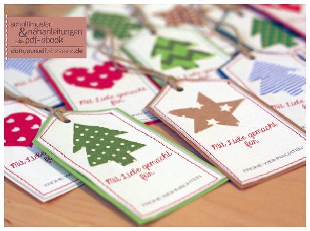Gratis Ebook Geschenkanhänger Für Weihnachten