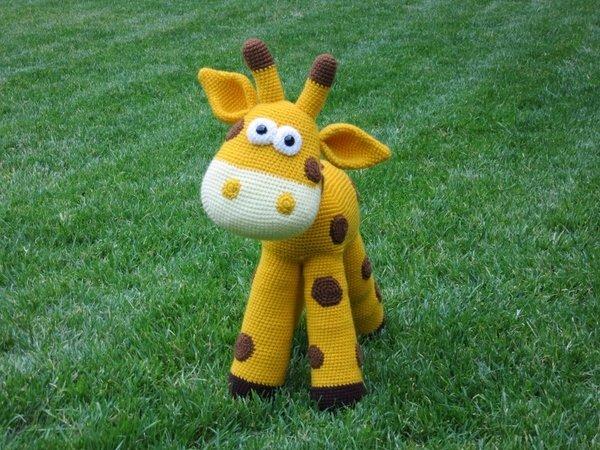 Giraffe Häkeln Stehend Unwiderstehlich