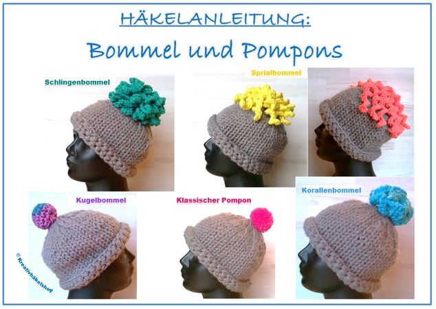 Häkelanleitung Bommel Und Pompons
