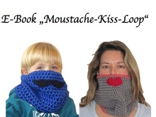"E- Book ""Moustache-Kiss-Loop"" für jeden KU"