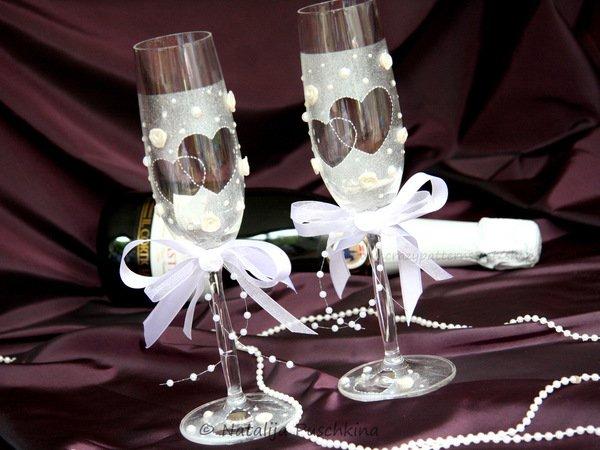 Diy deko f r gl ser glas deko basteln - Hochzeit dekorieren ...