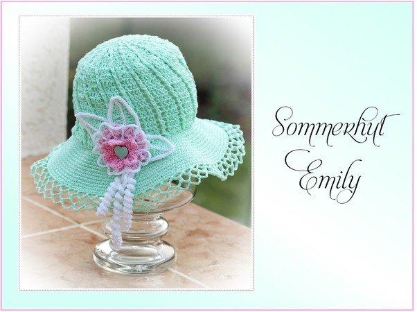 Hut Häkeln Sommer Hut Für Mädchen Häkeln