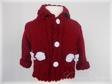 E-Book Strickanleitung Kinderjacke Winter No.3