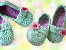 slipper crochet pattern