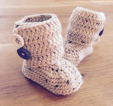 Häkelanleitung Baby Boots Mit Knöpfen