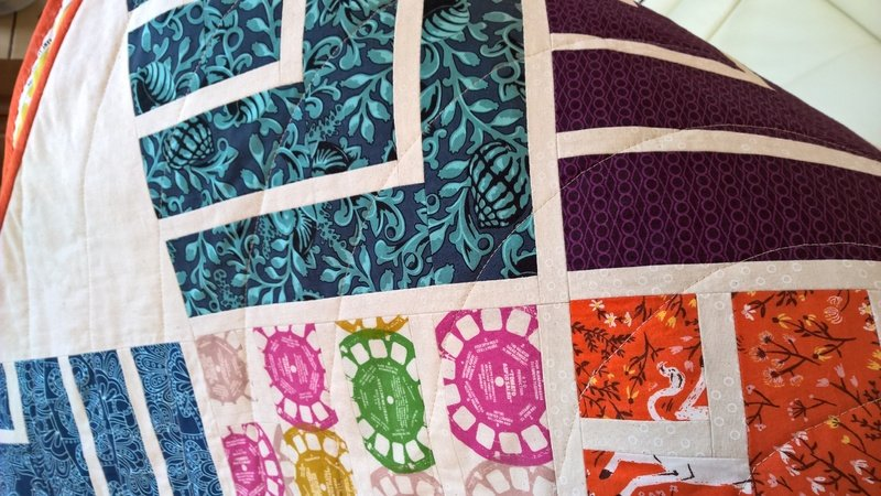 Jelly on Point - Patchwork Quilt Nähanleitung