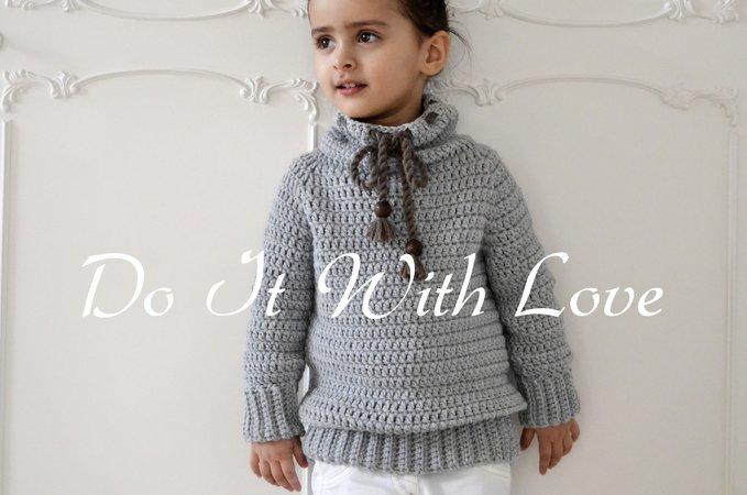 Kinder Pullover Kinder Jacke Häkeln