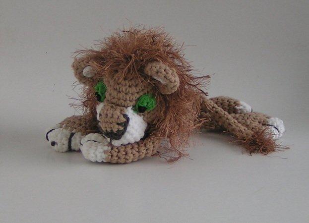 Löwen häkeln /// Tier mit toller Löwenmähne