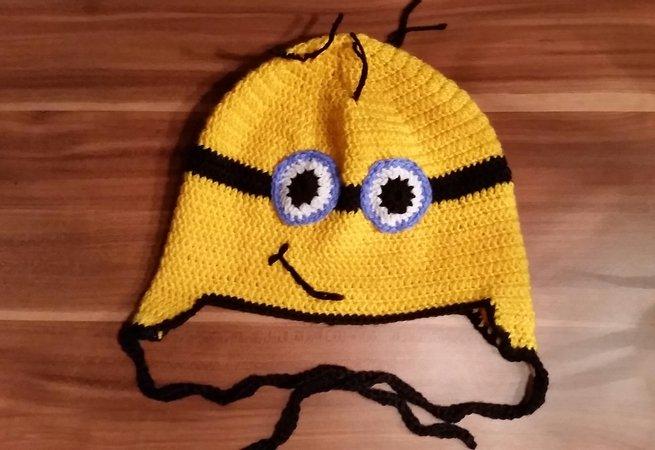 Süße Minion Mütze Für Kids Sie Ihn