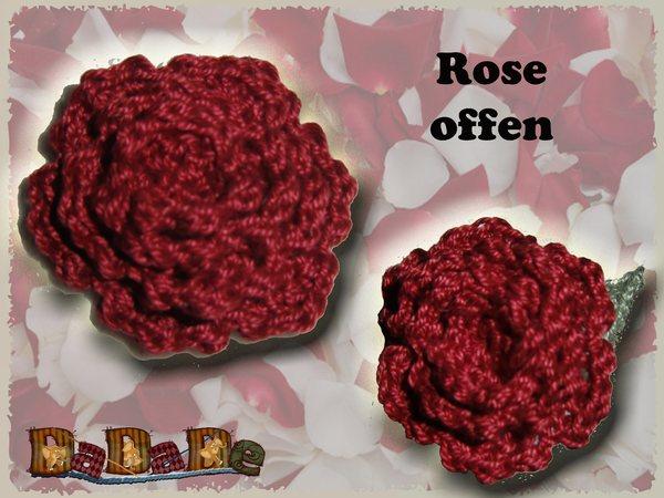 Rosen, die nicht welken - Häkelanleitung