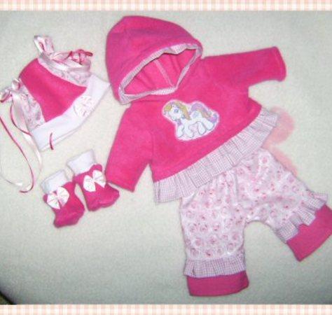 4 Schnittmuster für Puppen - Winterelfe