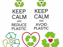 Recycling Freebie Stickdatei Keep Calm