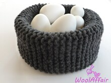 Knitting Pattern - Easter Basket - No.41aE