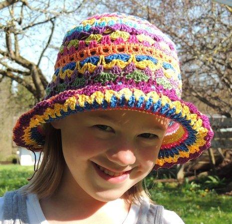 Hut für den Sommer häkeln // Sonnenhut häkeln