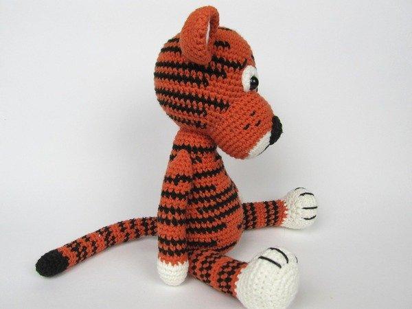 Amigurumi Häkeln Tiger Muster von SonsPopkes auf Etsy ...   450x600