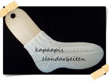 Anleitung / E-Book Toe up Socks