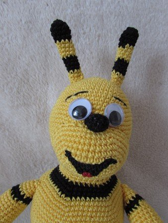 Häkelanleitung Biene Emma Wuschel