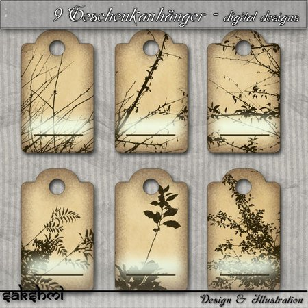 9 geschenkanh nger tags digital design zum ausdrucken f r scrapbooking. Black Bedroom Furniture Sets. Home Design Ideas