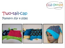 Two-tail-cap, 4 sizes