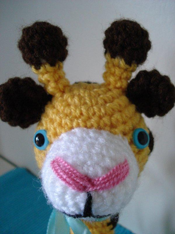 Amigurumi Hakelanleitung Gina Giraffe : Gina Giraffe - Amigurumi Hakelanleitung