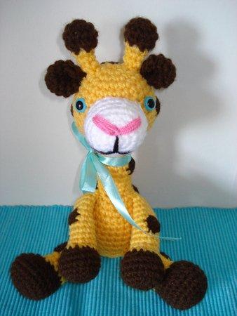 Gina Giraffe - Amigurumi Häkelanleitung
