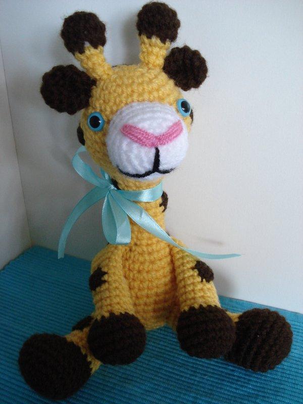 Tutorial Giraffe Amigurumi : Gina Giraffe - Amigurumi Hakelanleitung