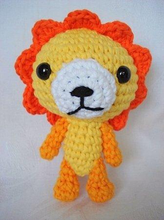 gratis Löwe häkeln----kuscheliges Amigurumi